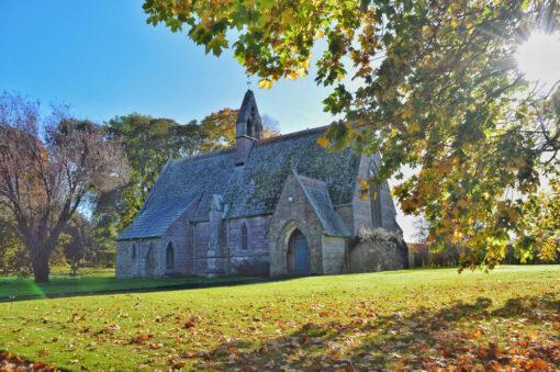 Etal Chapel is built
