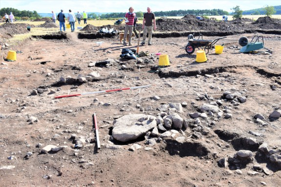 Open Day at Mardon Iron Age Site