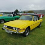 British 60s and 70s Triumph Classic Sports Car Rally